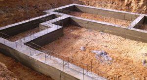 Ленточный фундамент под дом