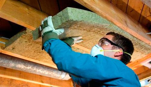 Утепление потолка в частном доме минватой - два способа
