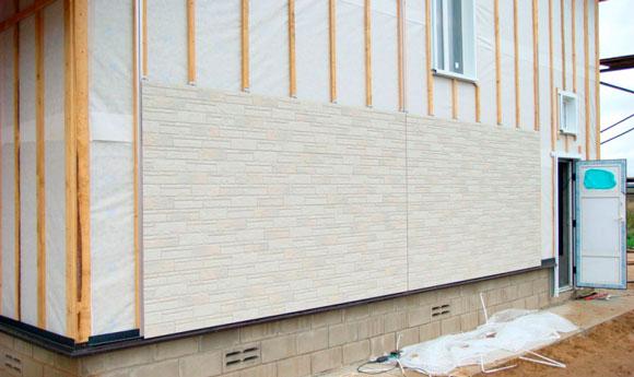 Ветрозащита для стен деревянного дома