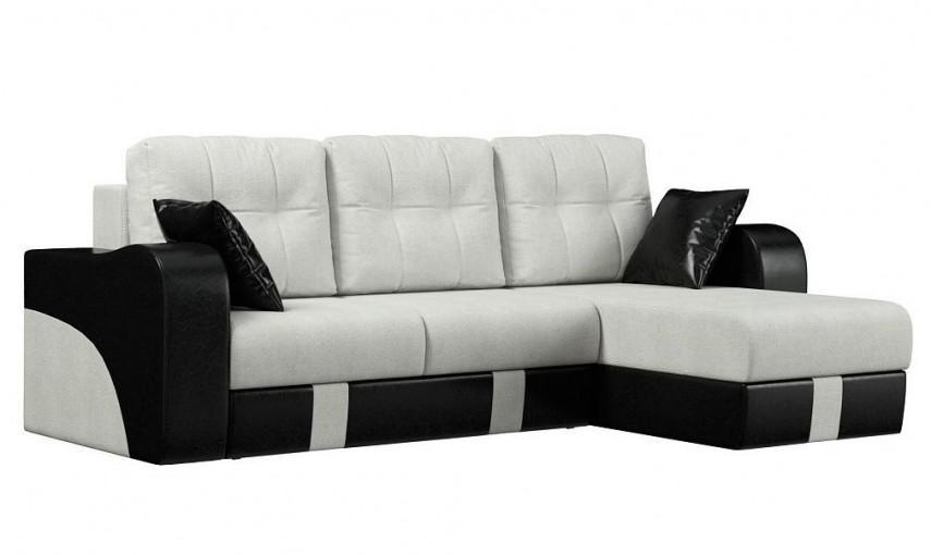 правоугольный диван с ассиметрией