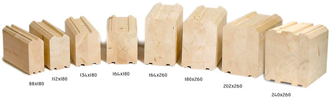 Клееный брус – качественный материал для прочного дома