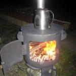 Переносная печь
