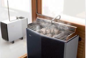 Электрокаменка с парогенератором (комбинированный нагреватель) для традиционной сауны и русской бани Tylarium™