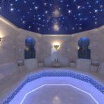 звездное небо в хамаме