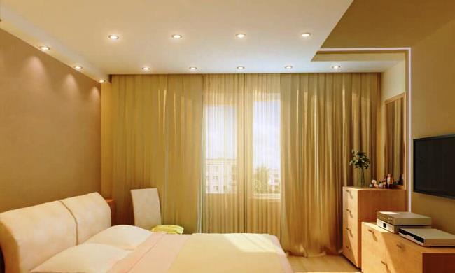 Делаем правильное освещение в спальной комнате