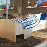 детская раздвижная кровать