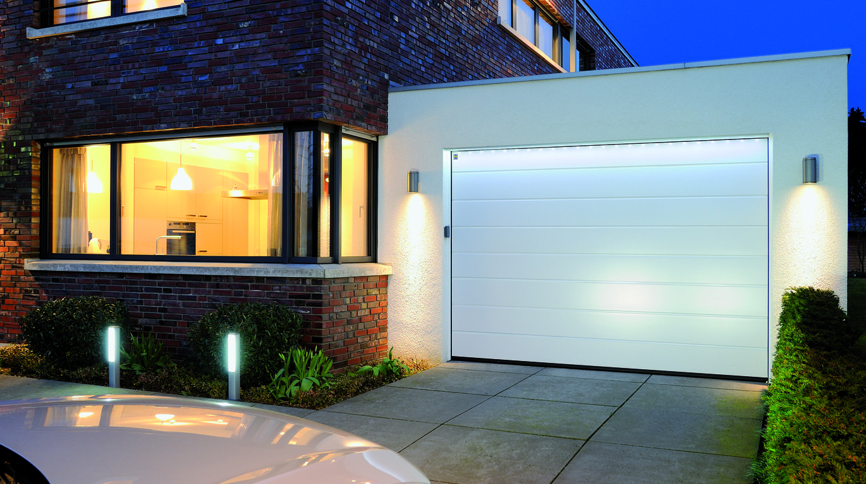 освещение гаражных ворот
