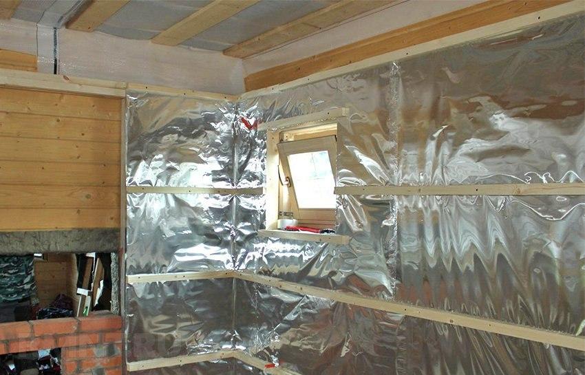 Теплоизоляция бань и саун
