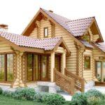 Деревянные дома и бани под ключ