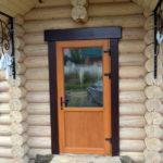 Теплые двери для бани