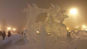 Ледовые скульптуры 2019