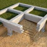 Железобетонный фундамент для бани